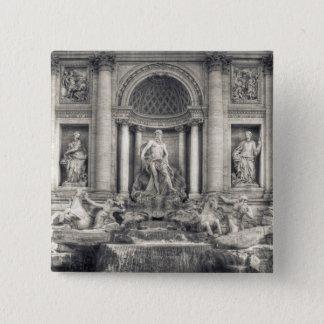 The Trevi Fountain (Italian: Fontana di Trevi) 4 Pinback Button
