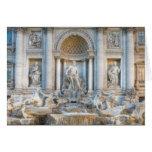 The Trevi Fountain (Italian: Fontana di Trevi) 5 Card