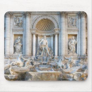 The Trevi Fountain (Italian: Fontana di Trevi) 5 Mouse Pad