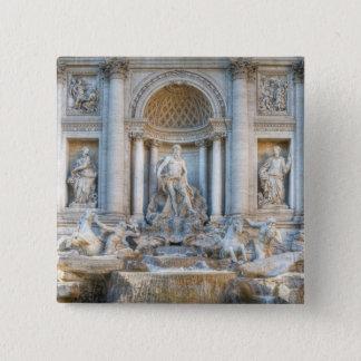 The Trevi Fountain (Italian: Fontana di Trevi) 5 Pinback Button