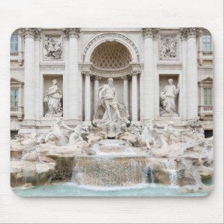 The Trevi Fountain (Italian: Fontana di Trevi) Mouse Pad