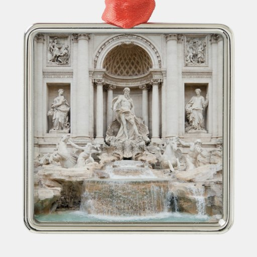 The Trevi Fountain (Italian: Fontana di Trevi) Christmas Tree Ornament
