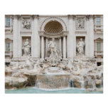 The Trevi Fountain (Italian: Fontana di Trevi) Poster