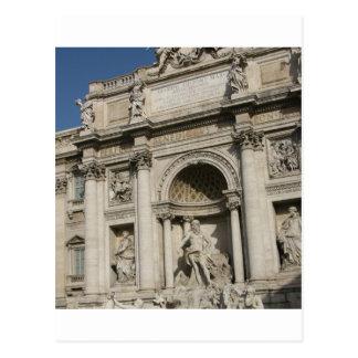 The Trevi Fountain Postcard