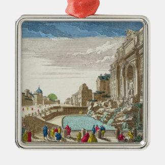 The Trevi Fountain, Rome Metal Ornament