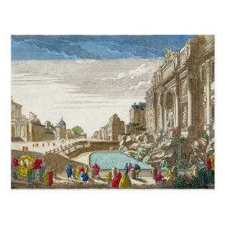 The Trevi Fountain, Rome Postcard