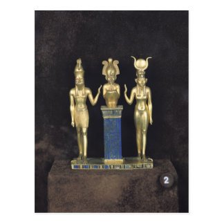 The Triad of Osorkon II, reign of Osorkon II Postcard