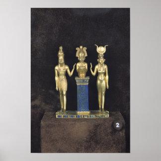 The Triad of Osorkon II, reign of Osorkon II Poster