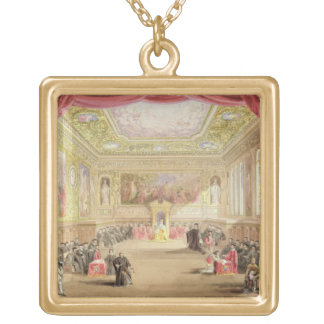 The Trial, Act IV, Scene I from Charles Kean's pro Gold Plated Necklace