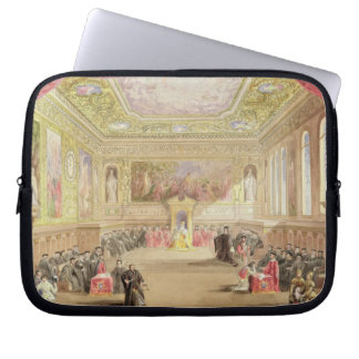 The Trial, Act IV, Scene I from Charles Kean's pro Laptop Sleeve