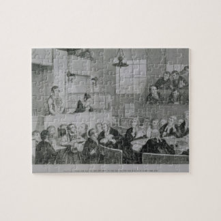 The Trial at the Old Bailey, plate 5 of 'The Drunk Jigsaw Puzzle