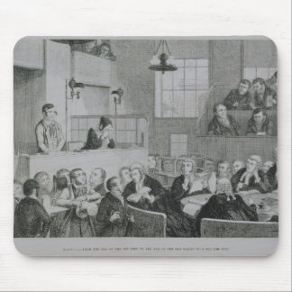 The Trial at the Old Bailey, plate 5 of 'The Drunk Mouse Pad