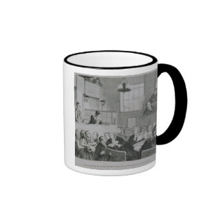 The Trial at the Old Bailey plate 5 of The Drunk Mug