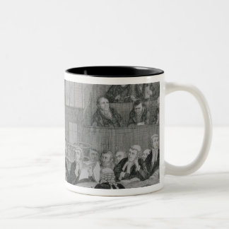 The Trial at the Old Bailey, plate 5 of 'The Drunk Coffee Mug