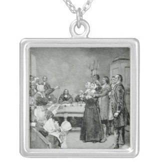 The Trial of a Witch Silver Plated Necklace