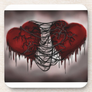 The Trial of Hearts Drink Coaster