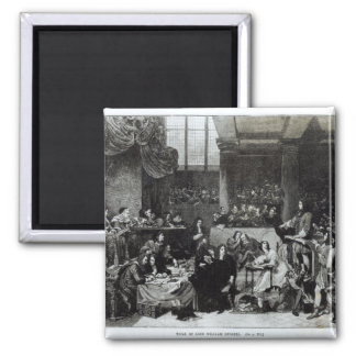 The Trial of Lord William Russell 2 Inch Square Magnet