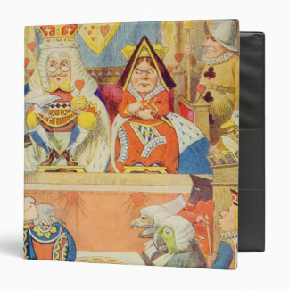 The Trial of the Knave of Hearts 3 Ring Binder