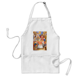 THE TRIAL OF THE KNAVE OF HEARTS ADULT APRON