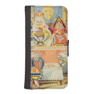 The Trial of the Knave of Hearts iPhone SE/5/5s Wallet Case