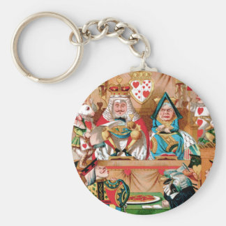 THE TRIAL OF THE KNAVE OF HEARTS KEYCHAIN