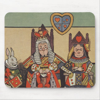 The Trial of the Knave of Hearts Mouse Pad