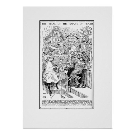 The Trial of the Knave of Hearts Poster