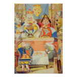 The Trial of the Knave of Hearts Print