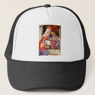 THE TRIAL OF THE KNAVE OF HEARTS TRUCKER HAT