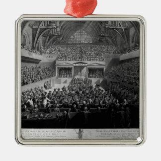 The Trial of Warren Hastings Metal Ornament