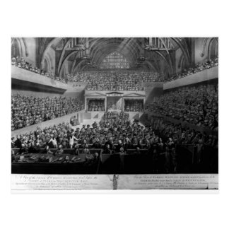 The Trial of Warren Hastings Postcard