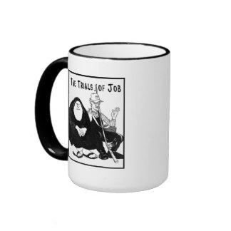 The Trials of Job Ringer Mug