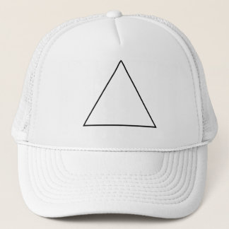 The triangle trucker hat