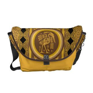 The Tribal Pelican Monogram Messenger Bag