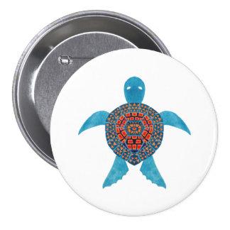 The Tribal Sea Turtle Illustration Printed on Merchandise Illustration by Haidi Shabrina