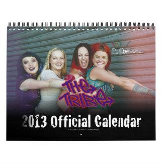 The Tribe Official 2013 Custom Calendar