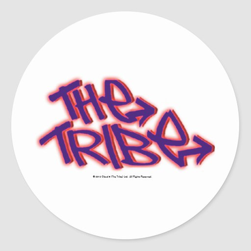 The Tribe Official Logo Classic Round Sticker