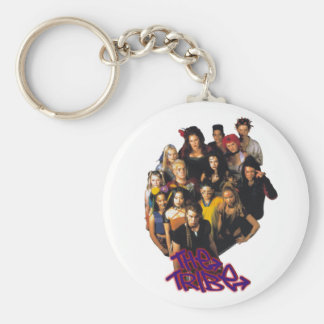 The Tribe Series 2 group shot Basic Round Button Keychain