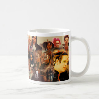 The Tribe Series 4 Collage Coffee Mug