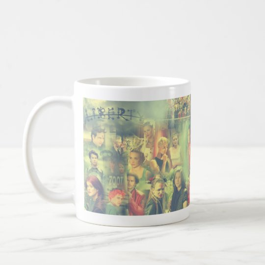 The Tribe Series 5 Collage Coffee Mug