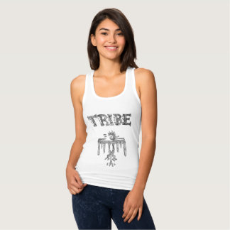 The Tribe Slim Fit Racer Back Tank
