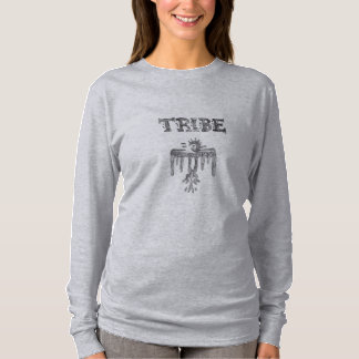 The Tribe Womens Hanes Nano Long Sleeve T-Shirt