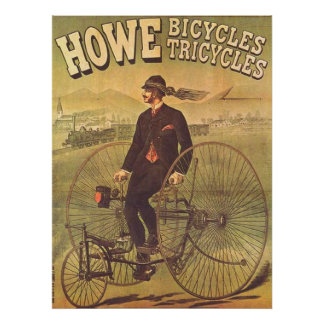 The Tricycle Vintage Advertising Poster 1894