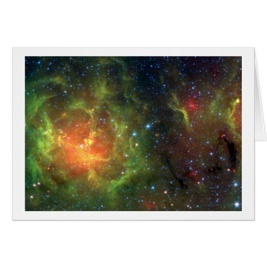 The Trifid Nebula Card