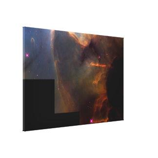 The Trifid Nebula- Stellar Nursery Canvas Print