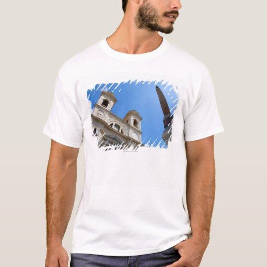The Trinita dei Monti church in Rome, Italy is T-Shirt