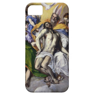 The Trinity, 1577-79 (oil on canvas) iPhone SE/5/5s Case