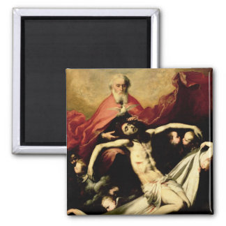 The Trinity, c.1635 2 Inch Square Magnet