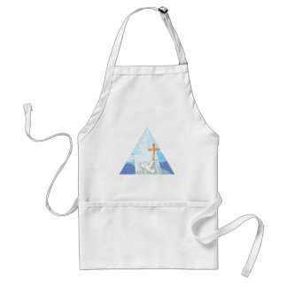 The Trinity - God the Father Son and Holy Spirit Adult Apron