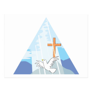 The Trinity - God the Father Son and Holy Spirit Postcard